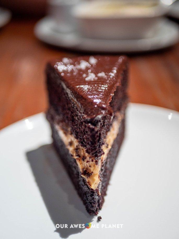 Little Flour Chocolate Cake