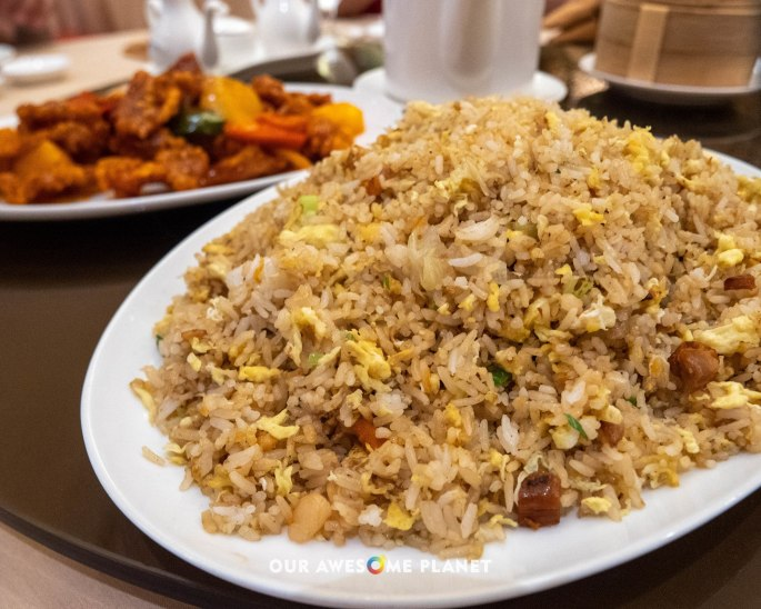 Fried Rice with Duck and Salted Egg