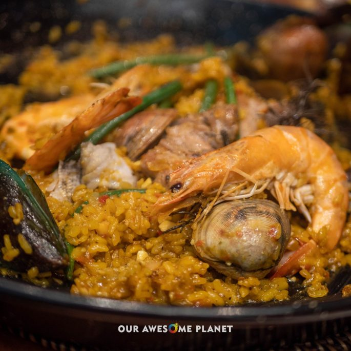 Sea & Mountain (Mixta) Paella