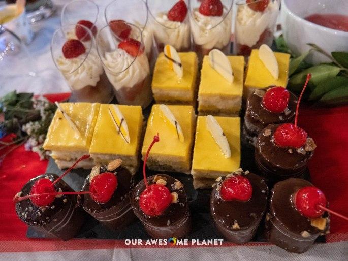 Roca, Strawberry Shortcake, Mango Soleil