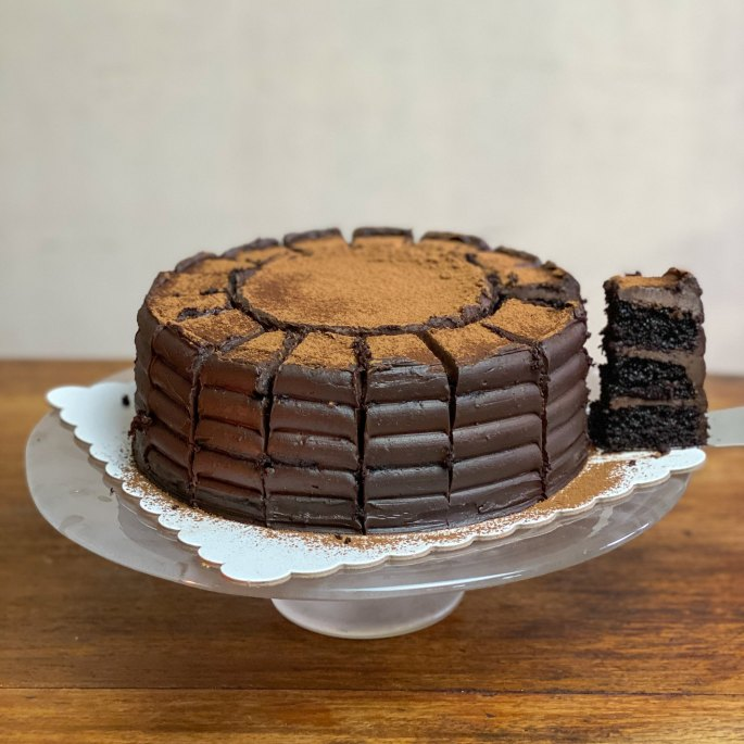 Chocolate Decadent Cake by Riche Patisserie (₱1,390)