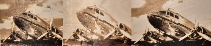 Plane engravings with gamma correction