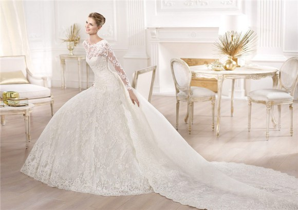 11 Awesome And Stunning A-Line Wedding Dresses