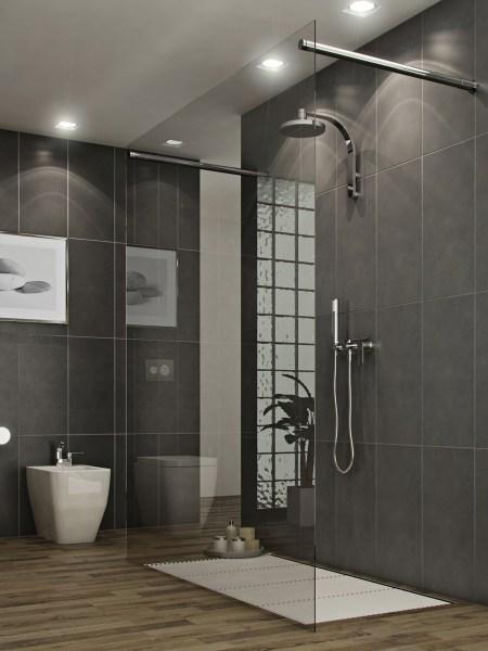 modern bathroom shower design ideas 11 Awesome Modern Bathrooms With Glass Showers Ideas - Awesome 11
