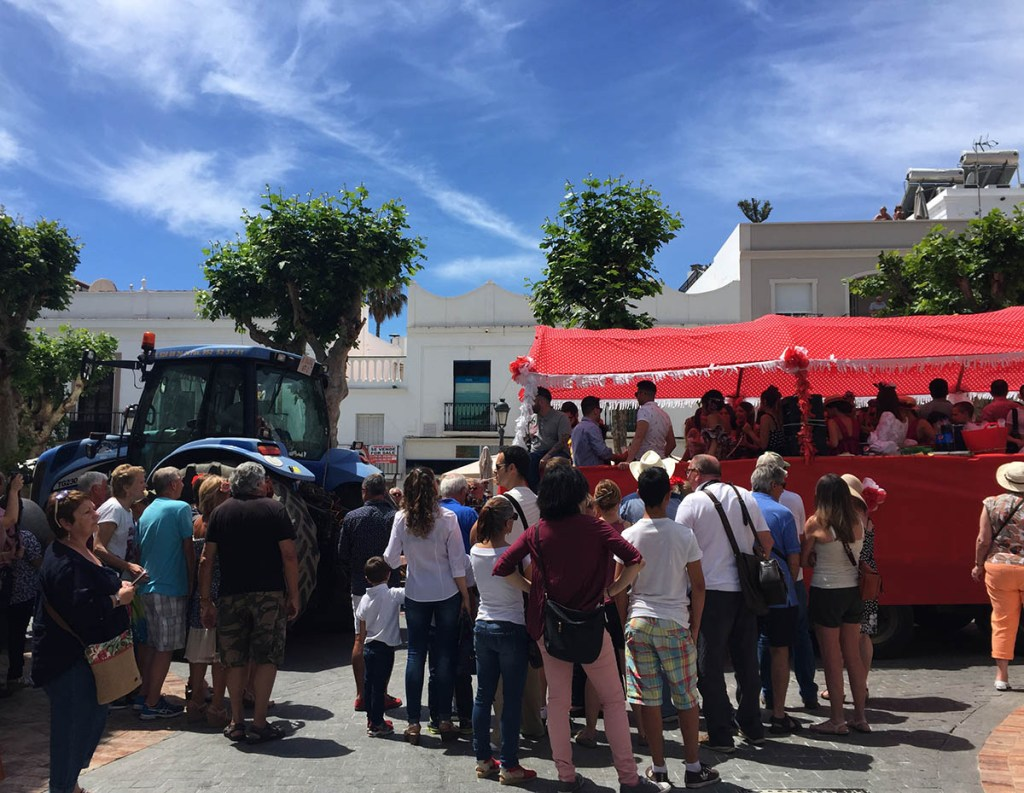 Visitors guide to Nerja: festival of San Ignacio
