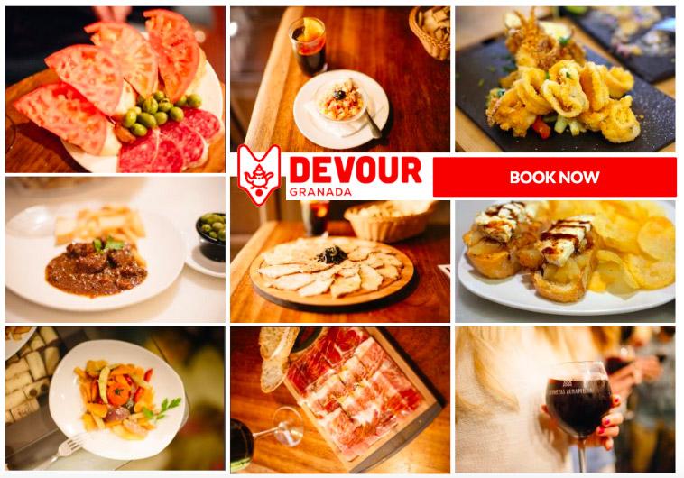 Devour food tours Granada