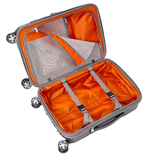 Lightweight Luggage to Take to Spain: Wheeled Spinner Bags