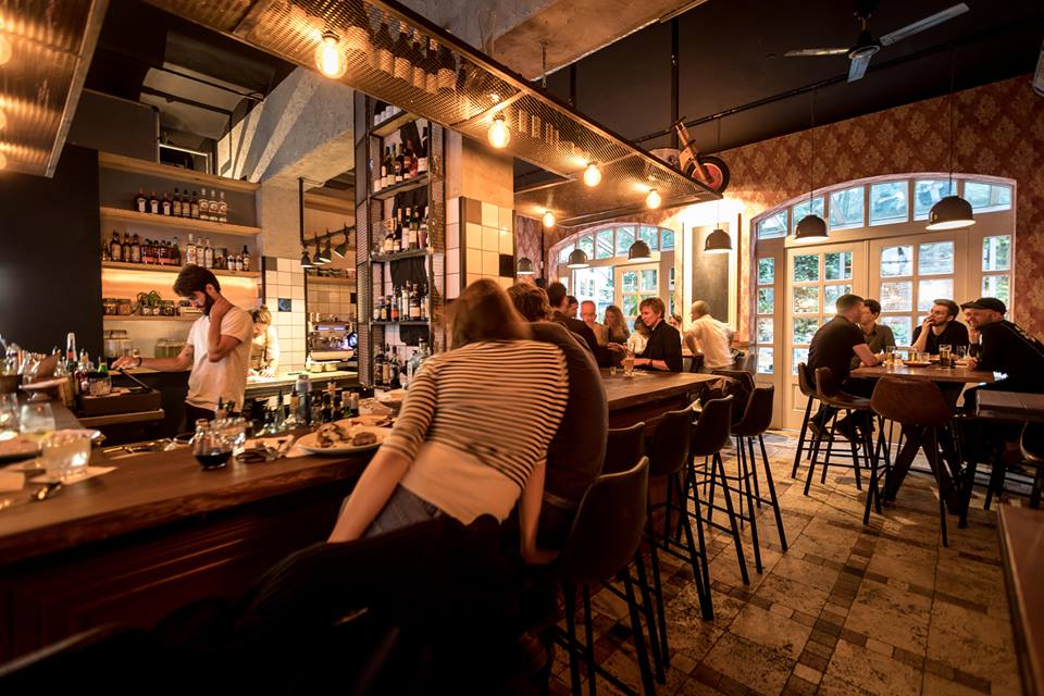 Night Kitchen Berlin  Contemporary Dining Bar  AWESOME