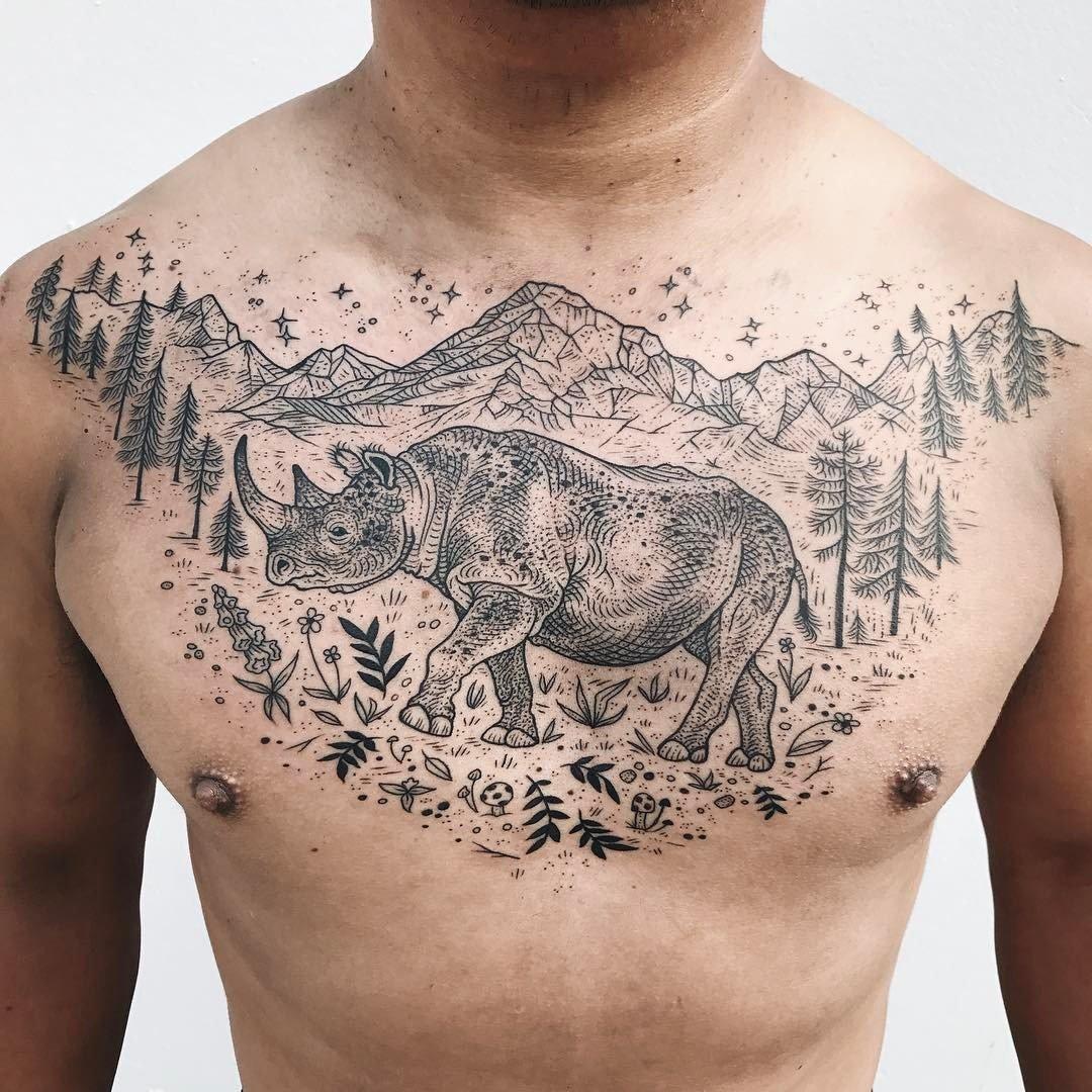 Pony Reinhardt Tattoo 5
