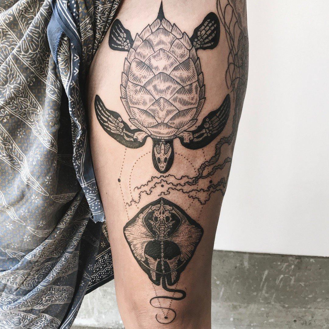 Pony Reinhardt Tattoo 6