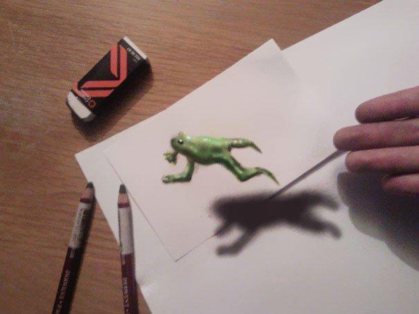3d drawing pencil art
