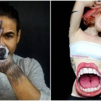 The Unusual Art Of This Body Artist Is Both Delightful And Grotesque
