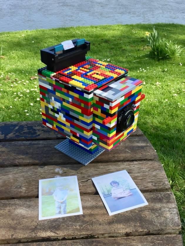 Lego 4×5″ Camera