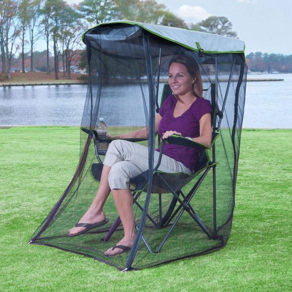 Kelsyus Original Canopy Chair - Foldable Chair for Camping, Tailgates, and Outdoor Events