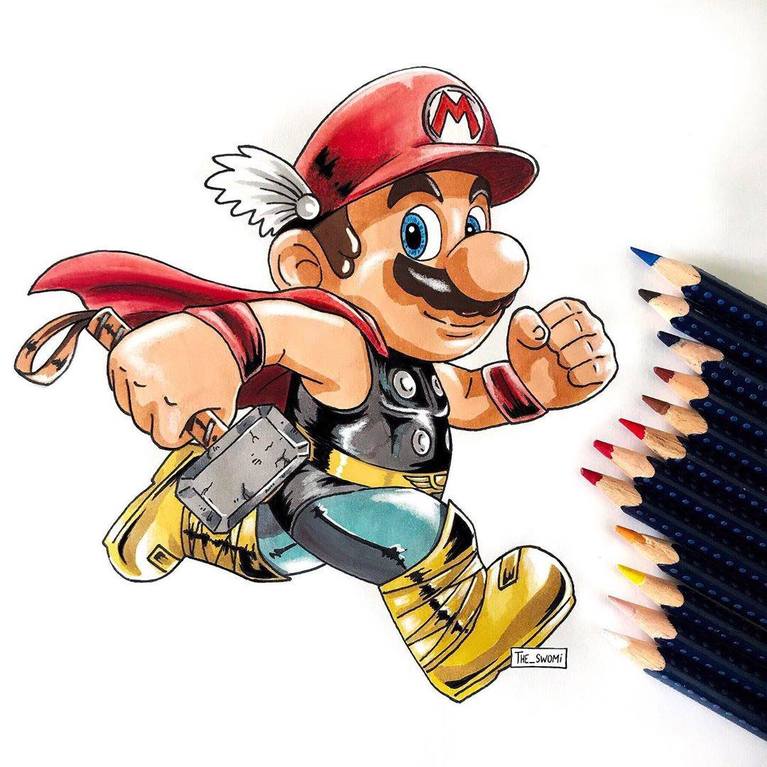 Ever Seen Two Different Famous Cartoon Characters Merged ...