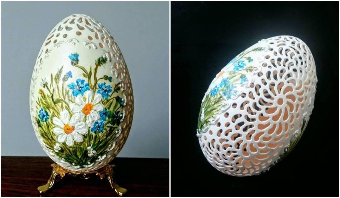 egg shell carving 3
