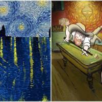 Artist Beautifully illustrates Vincent Van Gogh In His Illustrations