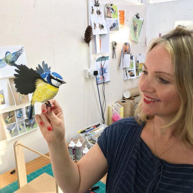 Lisa Lloyd Paper Sculptor 3