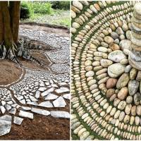 Artist Uses Dried Out Leaves, Twigs And Other Natural Materials To Create Mandala-Like Artworks