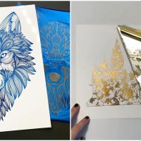 Foil Art Of This Artist Will Leave You Totally Mesmerized