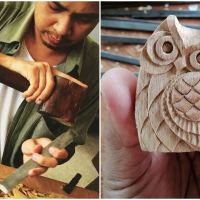 Malaysian Woodcarving Artist Weaves Magic By His Intricate Designs