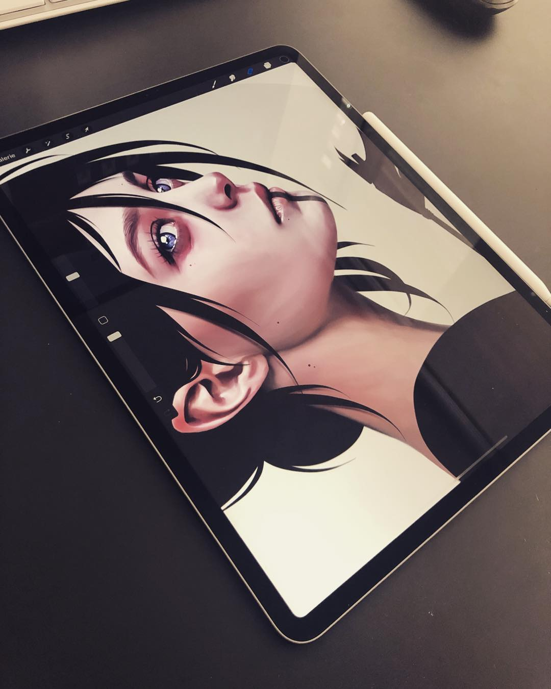 26-Year-Old Digital Artist With Model Looks Creates Stunning Female Illustrations On Tablet 2
