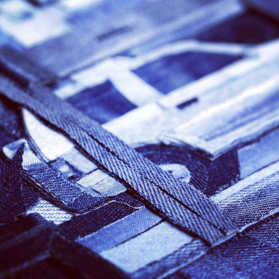 Artist Creates Stunning Works Of Art From Pieces Cut Out Of Denim Jeans 11