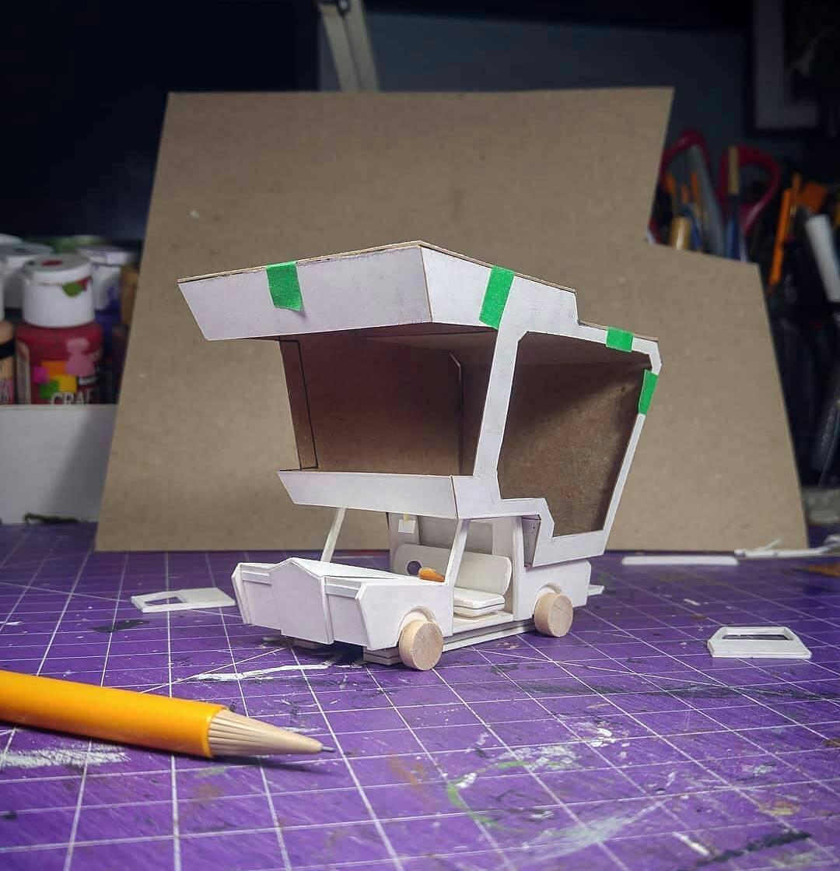 Model Maker Displays A Remarkable Eye For Detail In Making Adorable Miniature Models 5