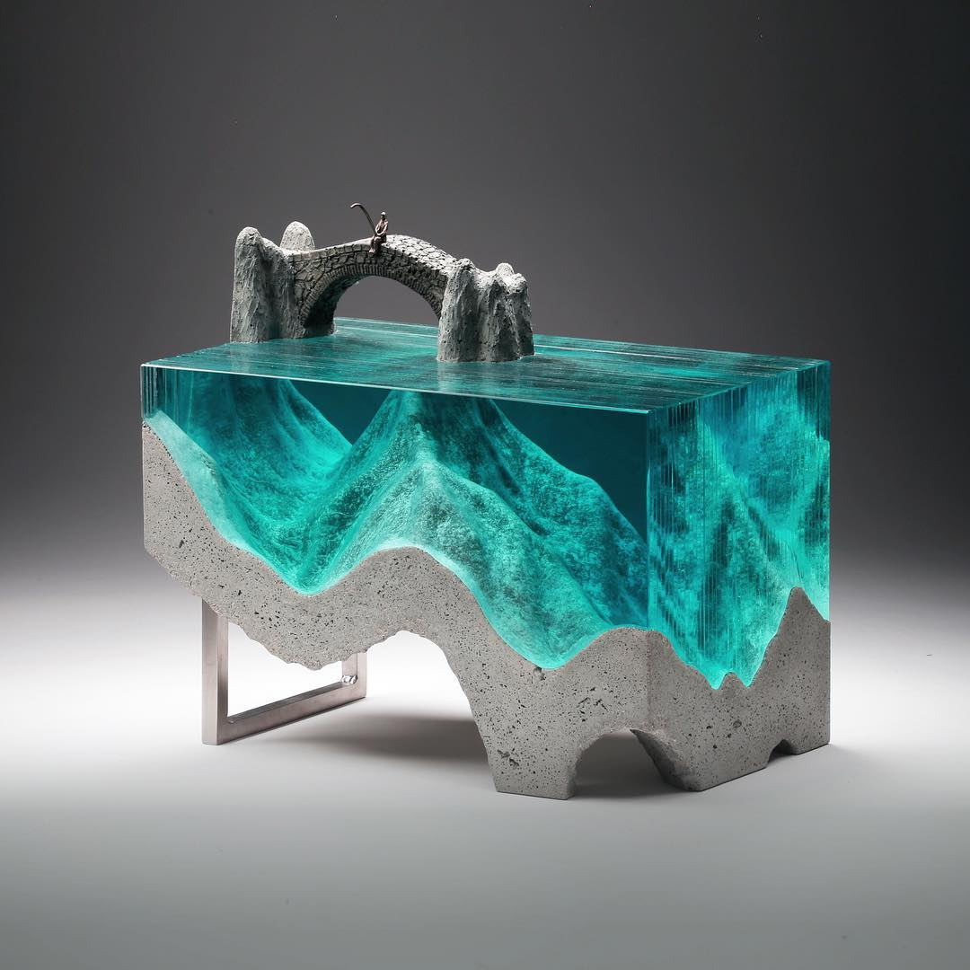 New Zealand-Based Artist Creates Landscape Through Evocative Glass Forms 6