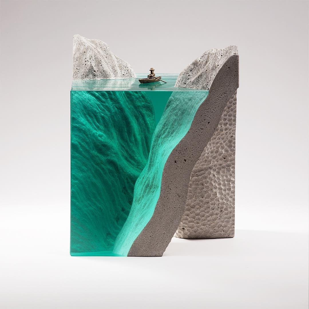 New Zealand-Based Artist Creates Landscape Through Evocative Glass Forms 8