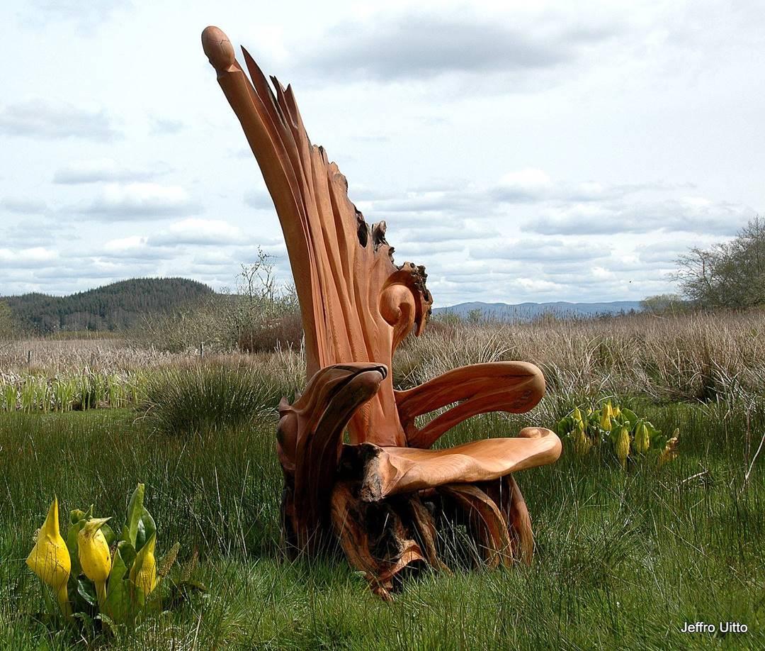 Wood Artist Creates Stunning Animal Sculptures Using Only Salvaged Wood 5