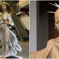 Grace and Sensuality Mark the Bronze Sculptures of Chinese Sculptress