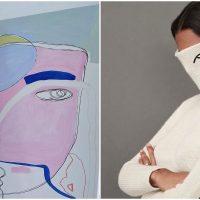 Minimal Line Art of Israeli Artist Combines Art, Fashion and Photography