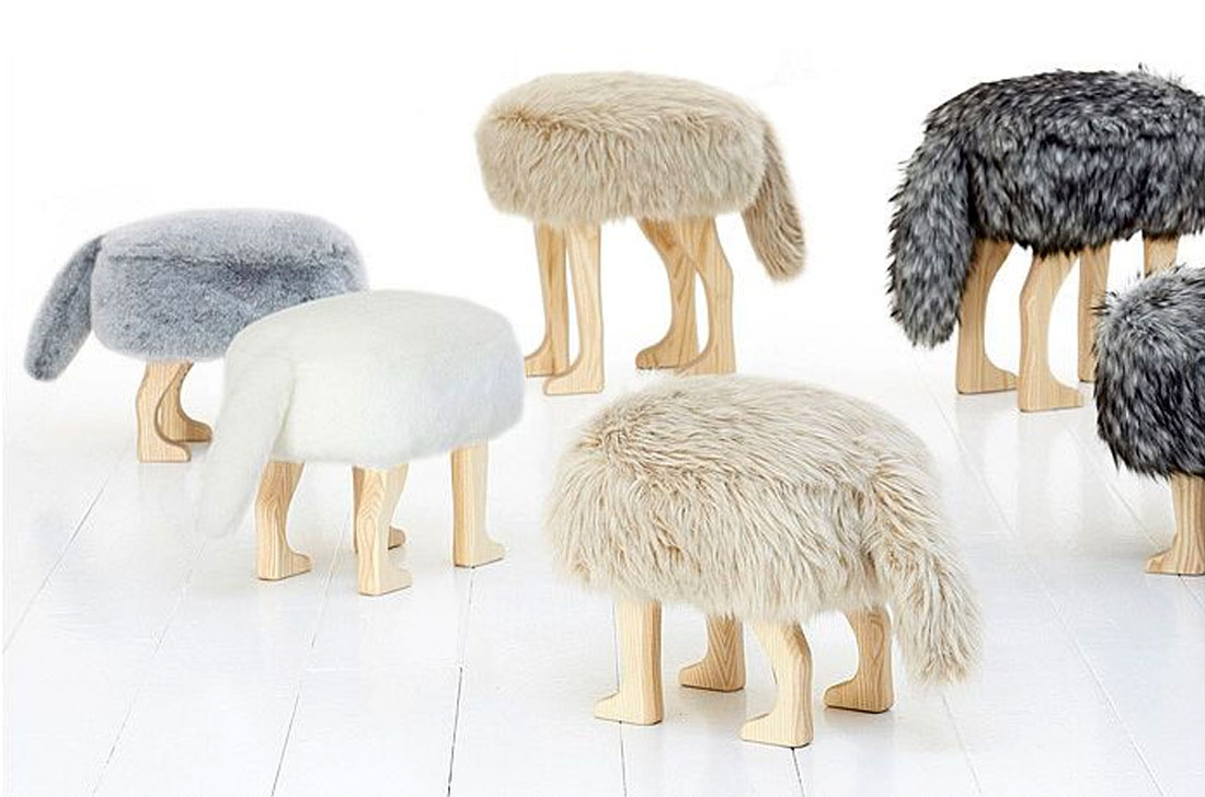Awesome Design Ideas  Animal Stool from Rakuten