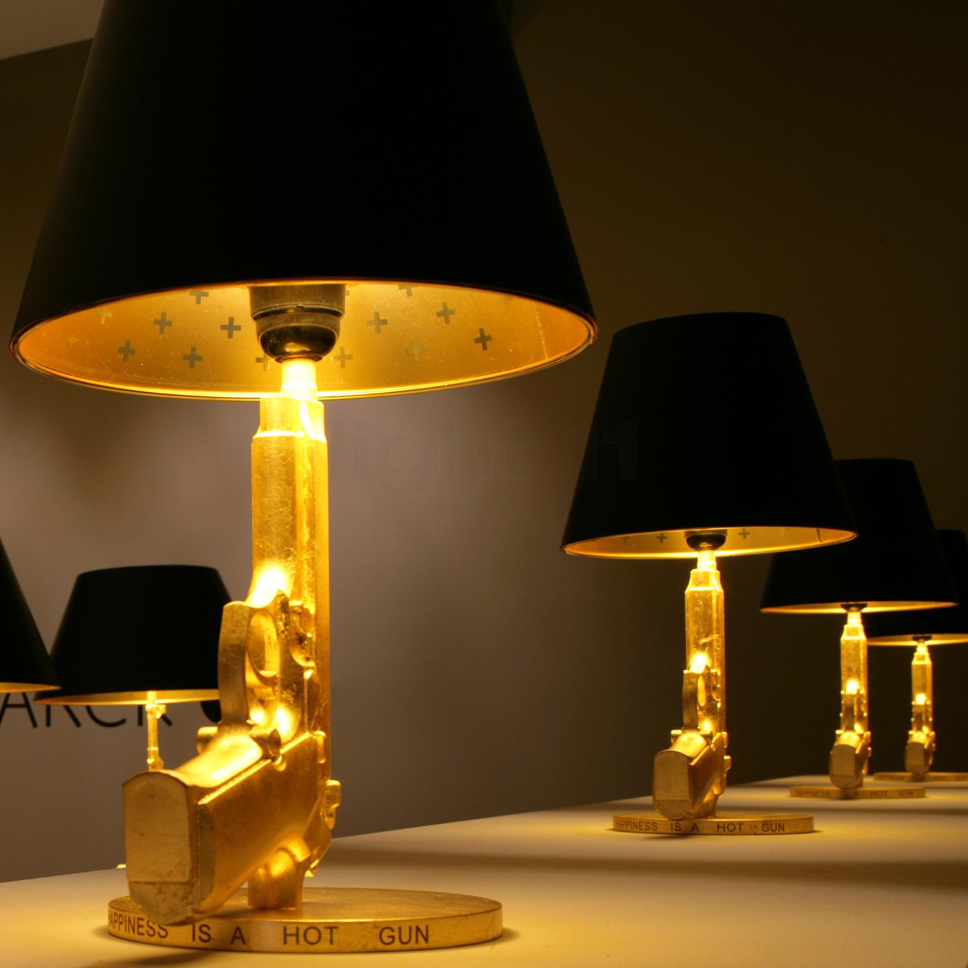 Awesome Design Ideas  Bedside Gun Table Lamp by Philippe
