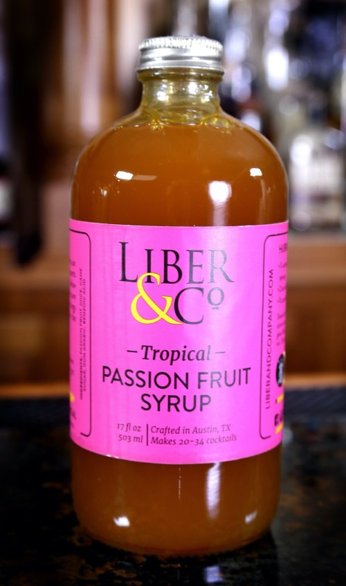 Liber & Co. Tropical Passion Fruit, 17 oz