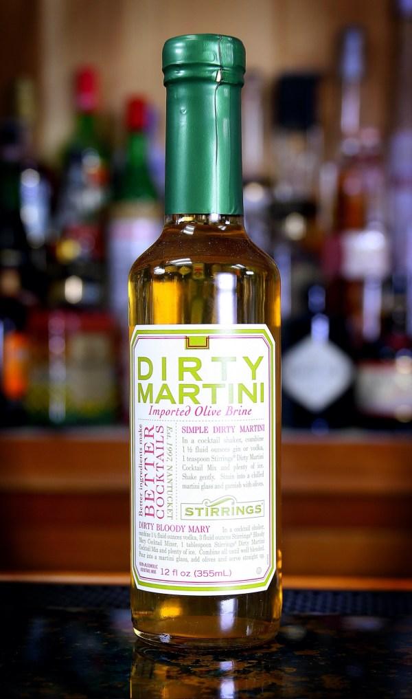 Stirrings Dirty Martini Olive Brine