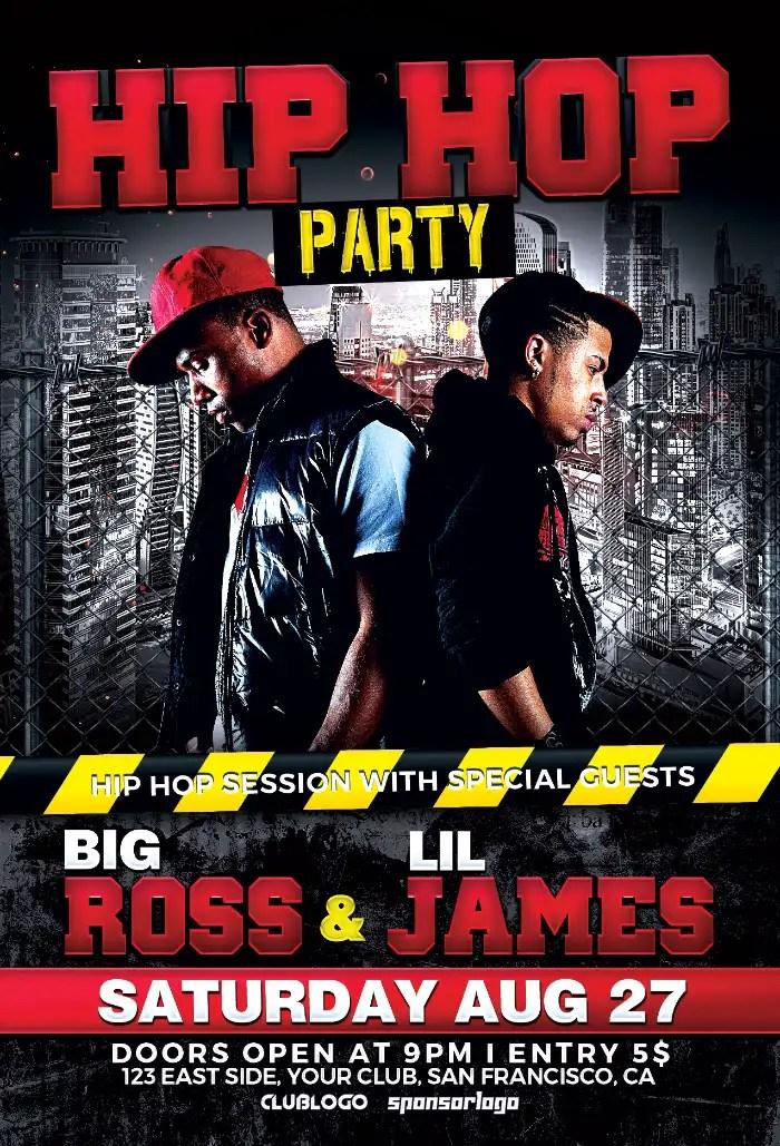 Download The Hip Hop Battle Flyer Template
