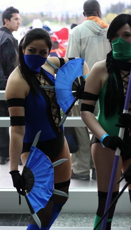 FanExpo Mortal Combat Babes
