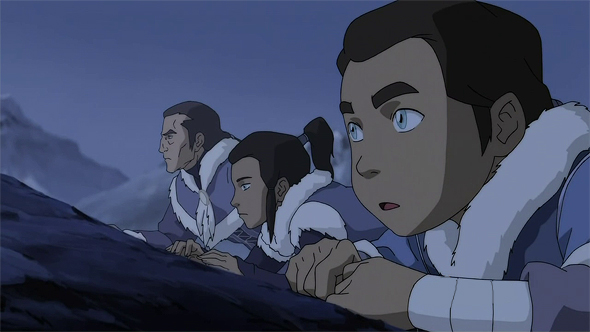 LoK: Tarrlok, Noatak and Yakone