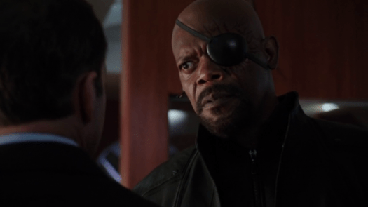 Shield s01e02 Nick Fury