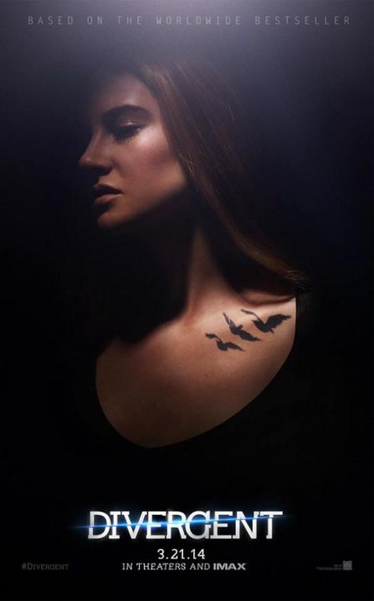 Divergent Shailene Woodley as Tris
