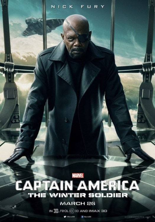 Captain America: The Winter Soldier - Nick Fury