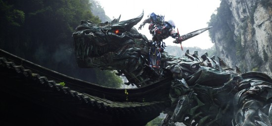 Optimus Prime + Grimlock Transformers