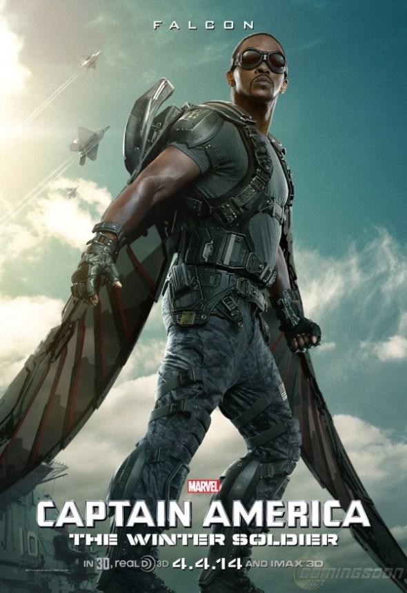 Captain America: The Winter Soldier: Falcon