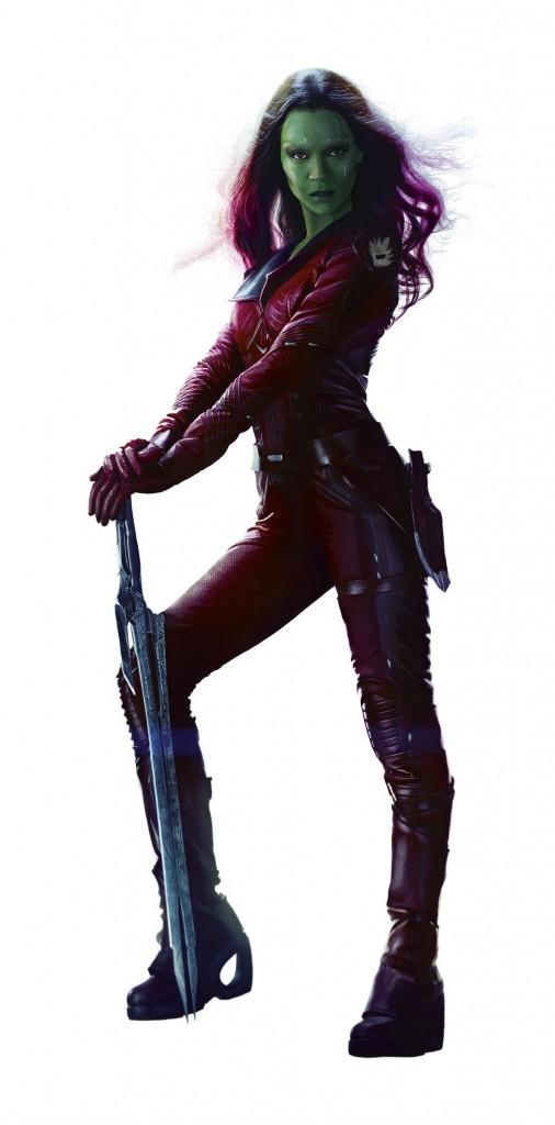 Guardians of the Galaxy-Gamora