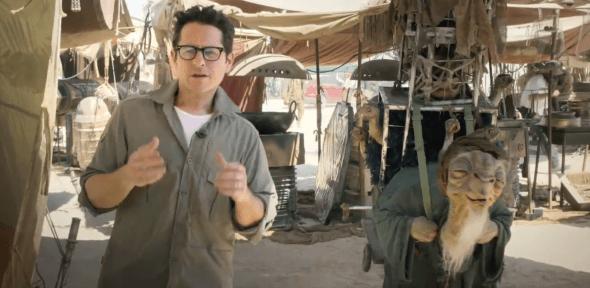 JJ Abrams / Star Wars Set