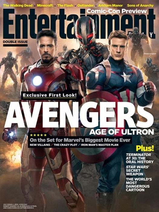 Avengers: Age of Ultron / Robert Downey Jr / Chris Evans