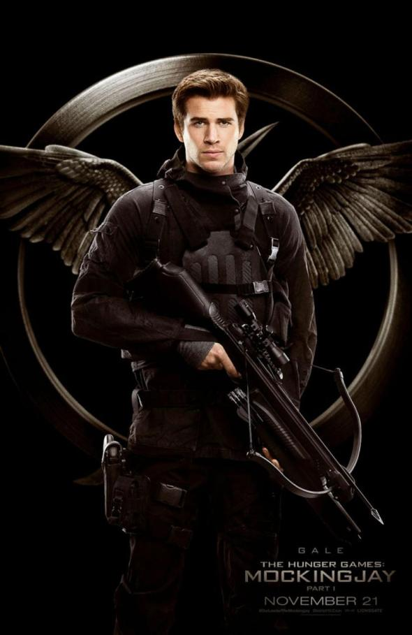 The Hunger Games Mockingjay Part 1 / Liam Hemsworth / Gale