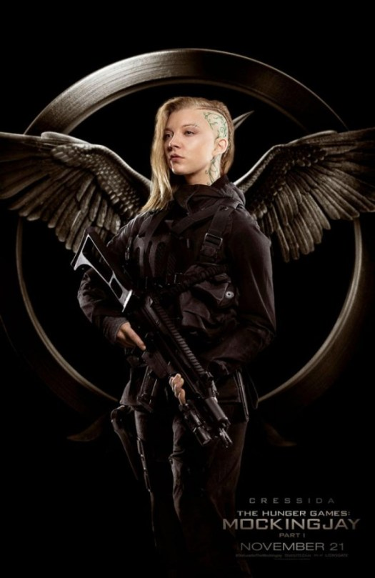 The Hunger Games Mockingjay Part 1 / Natalie Dormer / Cressida